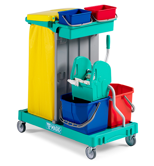 Janitor Trolley Magic Line 120 Basic supplier in qatar