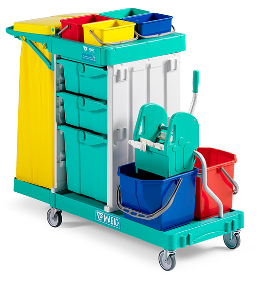 Janitor Trolley Magic 350 for sale in qatar