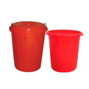 plastic bucket red for sale in qatar