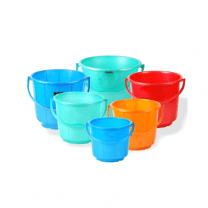 plastic buckets